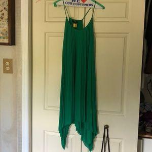 Emerald green H&M dress